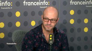 Roland Séférian, climatologue à Météo France, invité de franceinfo lundi 8 octobre. (FRANCEINFO / RADIOFRANCE)