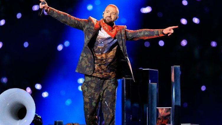Justin Timberlake au Super Bowl 2018  (Christopher Polk / GETTY IMAGES NORTH AMERICA / AFP)