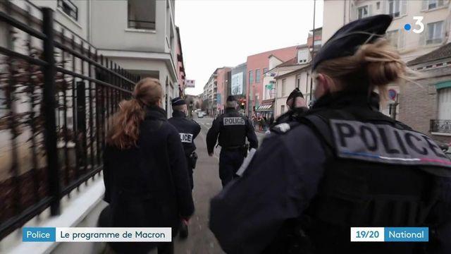 Beauvau de la sécurité : les annonces d'Emmanuel Macron pour les policiers