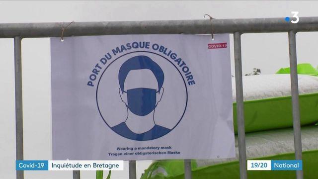 Coronavirus : inquiétude en Bretagne