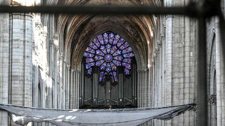 Le grand orgue de Notre-Dame de Paris, le 17 juillet 2019 (STEPHANE DE SAKUTIN / POOL / AFP)