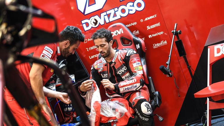 Andrea Dovizioso et Ducati c'est fini ! (GIGI SOLDANO / DPPI MEDIA)
