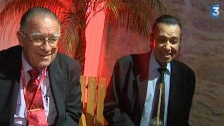 Orquesta  Buena Vista Social Club: Mirabal et Galban en interview.  (Culturebox)