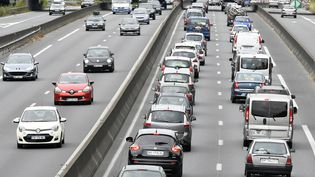 Embouteillage sur le prériphérique de Nantes, le 30 juillet 2016. (MAXPPP)