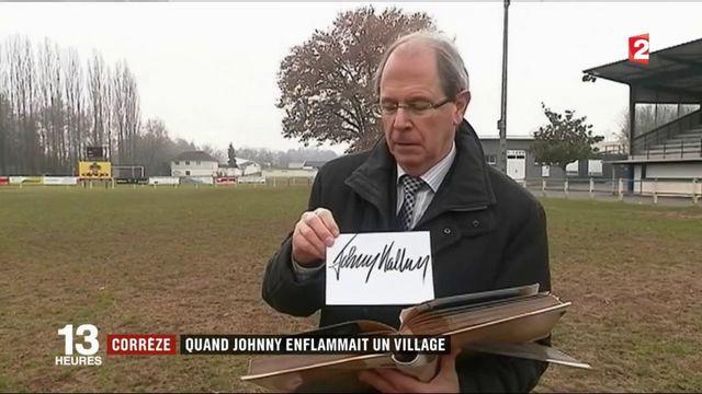 Quand Johnny Hallyday donnait deux concerts en Corrèze