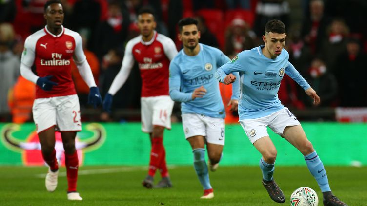 Premier League : Arsenal - Manchester City. (KIERAN GALVIN / NURPHOTO)