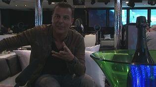 Jean-Roch dans son VIP Cannes  (Culturebox/France 3 Côte d'Azur)