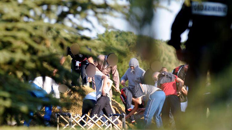 (Mohammed Merah avait été enterré à l'abri des regards, dans un cimetière à 10 kilomètres de Toulouse © MAXPPP)