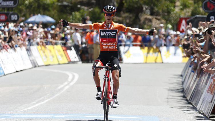 L'Australien Richie Porte (BMC), sur le Tour Down Under 2017. (YUZURU SUNADA / BELGA MAG)