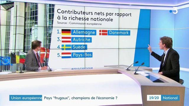 """Union européenne : les pays """"frugaux"""" champions de l'économie ?"""