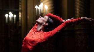 Marie-Agnès Gillot à l'Opéra Garnier le 15 mars 2018  (Christophe Archambault / AFP)