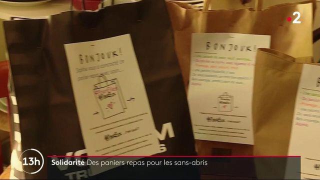 Toulouse: des paniers repas pour les sans-abri