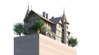 Le projet de futur hôtel à Metz, conçu par Philippe Starck  (DEIS / Le Républicain Lorrain)