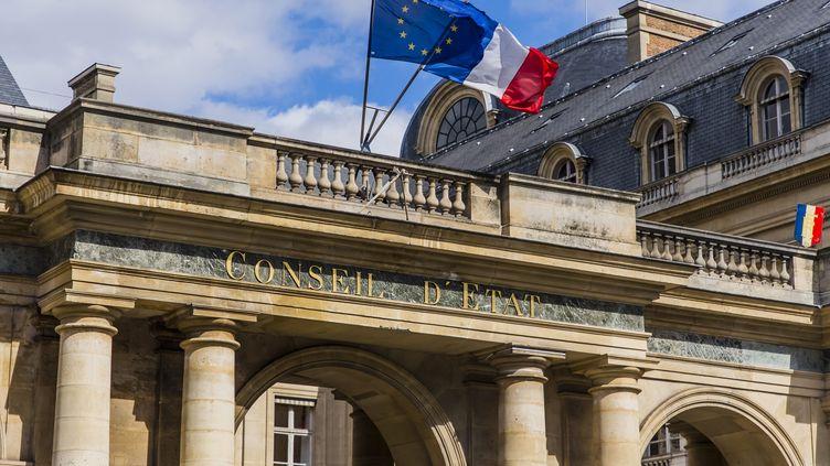 Le Conseil d'Etat, à Paris, le 26 mars 2021. (VINCENT ISORE / MAXPPP)