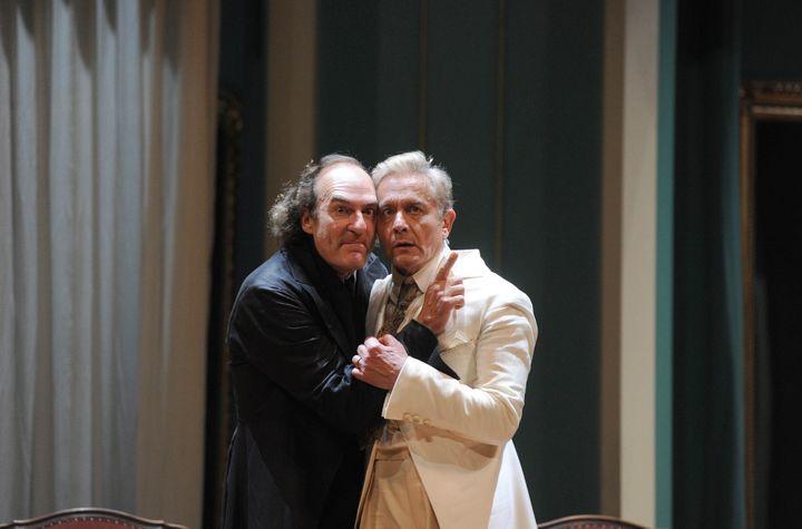 Michel Vuillermoz et Didier Sandre  (Raymond Delalande / SIPA)