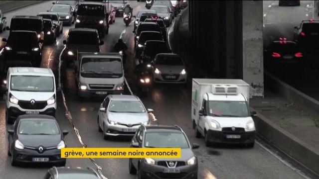 Grève dans les transports : lundi noir en vue