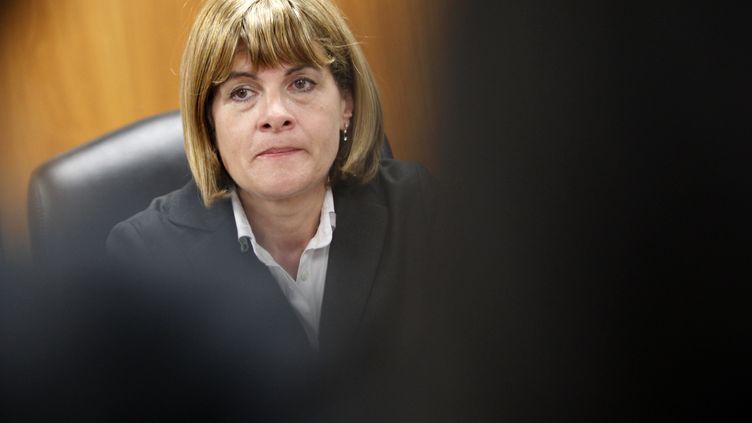 Anne Lauvergeon, alors patronne d'Areva, le 31 mars 2011 à Tokyo. (ISSEI KATO / REUTERS)