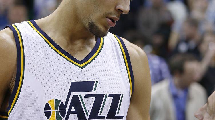Rudy Gobert (Utah Jazz). (GEORGE FREY / AFP)
