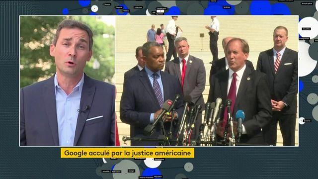 Etats-Unis : Google attaqué par 50 procureurs