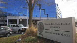 Le siège de la NRA à Fairfax, en Virginie (Etats-Unis), le 14 mars 2013. (PAUL J. RICHARDS / AFP)