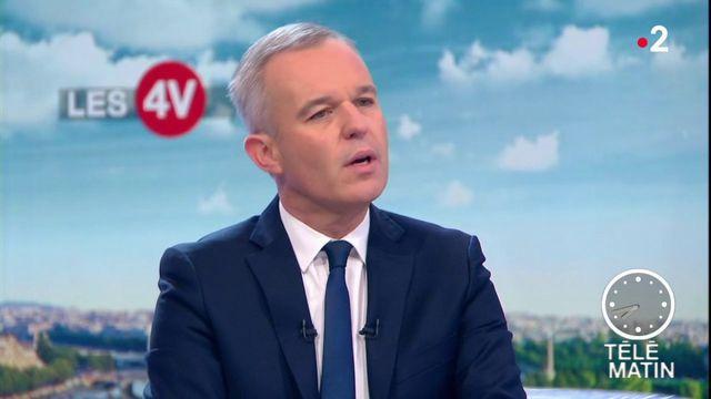 """Taxes sur les carburants : """"Le but n'est évidemment pas de renoncer"""", dit François de Rugy"""