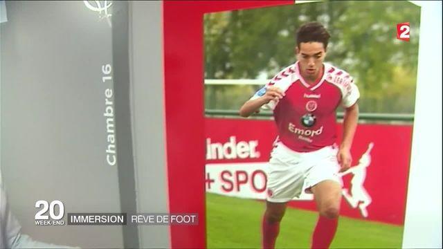 Football : immersion au coeur du centre de formation de Reims