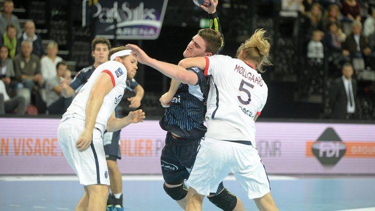 Montpellier est venu à bout du PSG (JEAN MICHEL MART / MAXPPP)