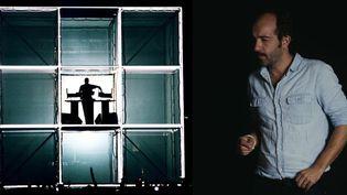 Etienne de Crécy et son Cube Live.  (Marie de Crécy)