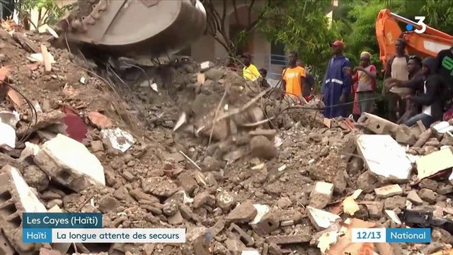 Haïti : les habitants de l'île attendent l'aide humanitaire