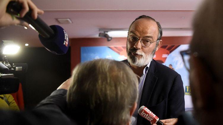 Edouard Philippe, à Lille, le 31 août 2021. (FRANCOIS LO PRESTI / AFP)