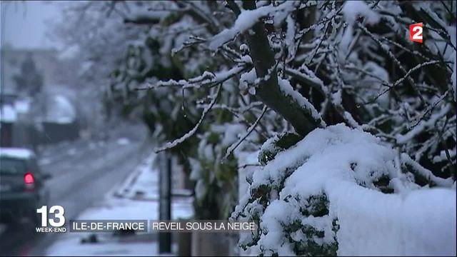 Météo : réveil sous la neige en Ile-de-France