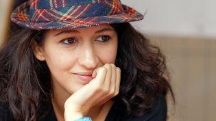 Zineb El Rhazoui, sociologue des religions et journaliste à Charlie Hebdo, convoquée pour une mise à pied par la direction de l'hebdomadaire.  (Citizenside/Bernard Ménigault /citizenside.com)
