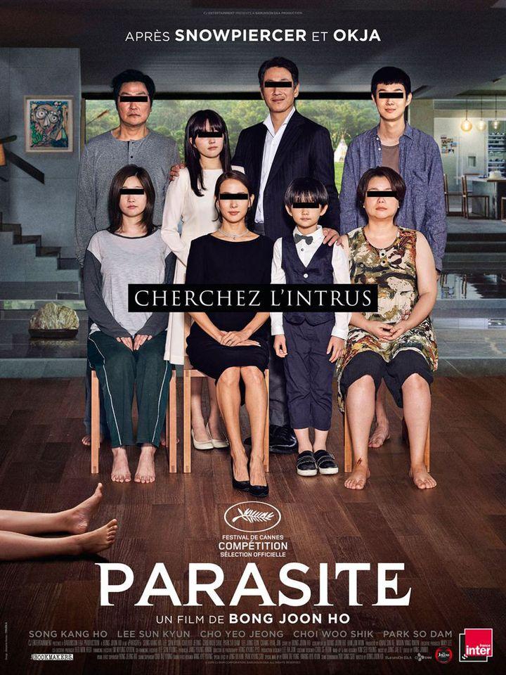L'affiche de Parasite de Bong Joon-Ho. (Les Bookmakers / The Jokers)