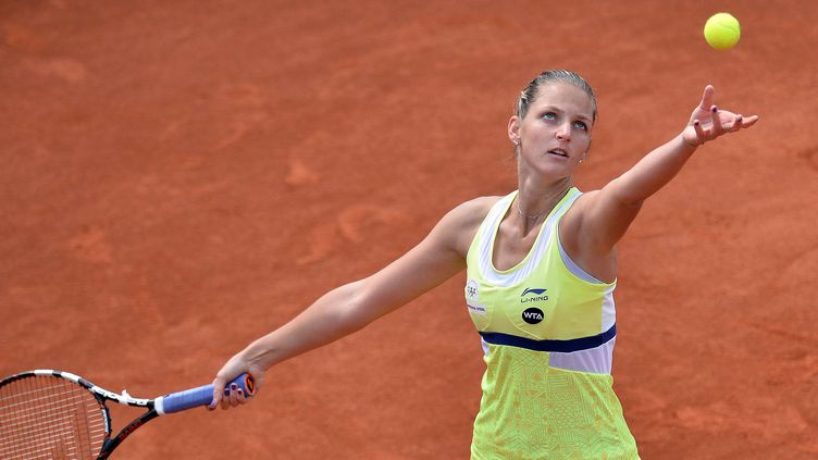 Karolina Pliskova a remporté à Prague le 4e titre de sa carrière  (KATERINA SULOVA/AP/SIPA / AP)