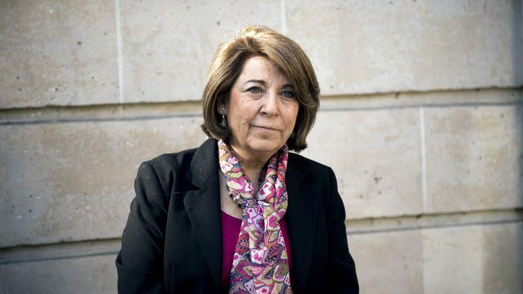 Corinne Lepage, ancienne ministre de l'Environnement à l'origine de la loi sur l'Air en 1996. (LIONEL BONAVENTURE / AFP)