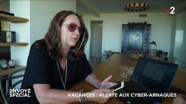 Envoyé spécial Vacances  alerte aux cyberarnaques