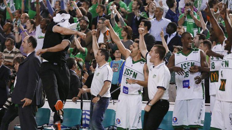 La joie des Nanterriens (KENZO TRIBOUILLARD / AFP)