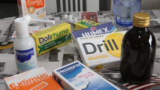 """Sur soixante-deux médicaments vendus sans ordonnance, un sur deux est à proscrire, selon une étude de """"60 millions de consommateurs"""" parue mardi 14 novembre 2017. (MAXPPP)"""
