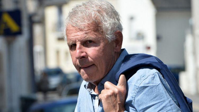 Le journaliste Patrick Poivre d'Arvor, à Amboise, le 14 août 2017. (JEAN-FRANCOIS MONIER / AFP)