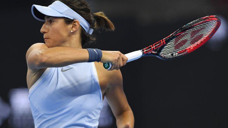 Caroline Garcia ne devrait pas bénéficier de wild-card pour le tournoi de Moscou (GREG BAKER / AFP)