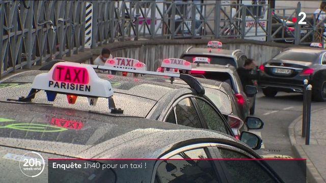 Taxis à Paris : le parcours du combattant