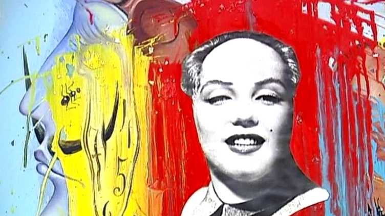 Mao Marilyn (fragment)  (Dali)