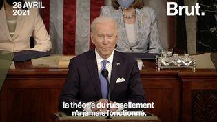 """VIDEO. Joe Biden : """"Je vais réformer l'impôt sur les sociétés afin qu'elles paient leur juste part"""" (BRUT)"""
