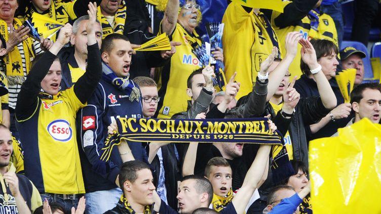 Le club de Sochaux est actuellement 6e de Ligue 2.  (SEBASTIEN BOZON / AFP)