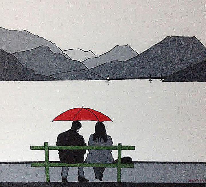 Annecy, sur les bords du lac  (Pierre Montillo)