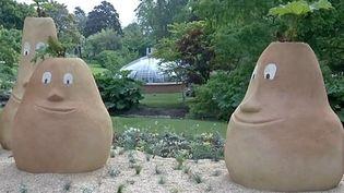 Les personnages de Claude Ponti dans le Jardin des Plantes de Nantes  (France 3 Culturebox)