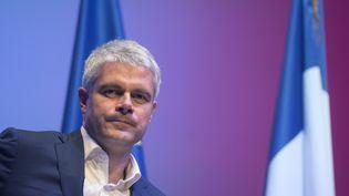 Laurent Wauquiez lors d'un meeting des Républicains à Toulon (Var), le 6 décembre 2017. (BERTRAND LANGLOIS / AFP)