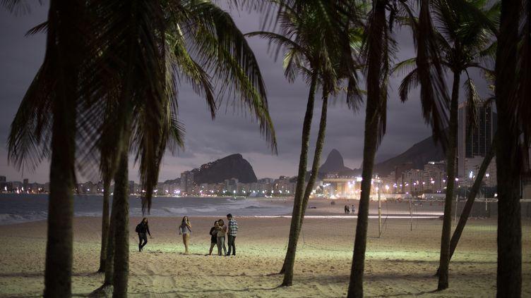 La plage de Copacabana s'endort paisiblement (SEBASTIAN KAHNERT / DPA)