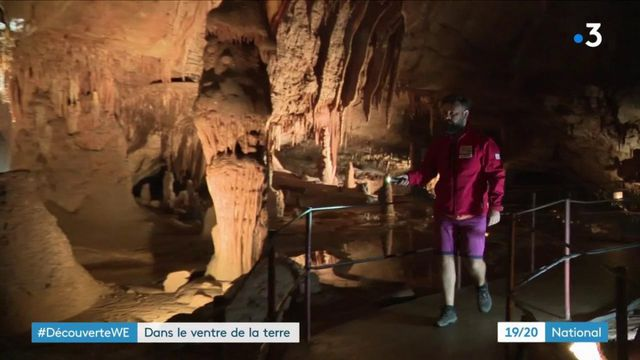 Découverte du week-end : dans les entrailles de la Grotte de la Cocalière
