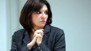 Nathalie Goulet,sénatrice centriste de l'Orne, a présidé la commission d'enquête parlementaire sur les moyens de lutte contre les réseaux djihadistes. (JEAN-MARC LOOS / MAXPPP)